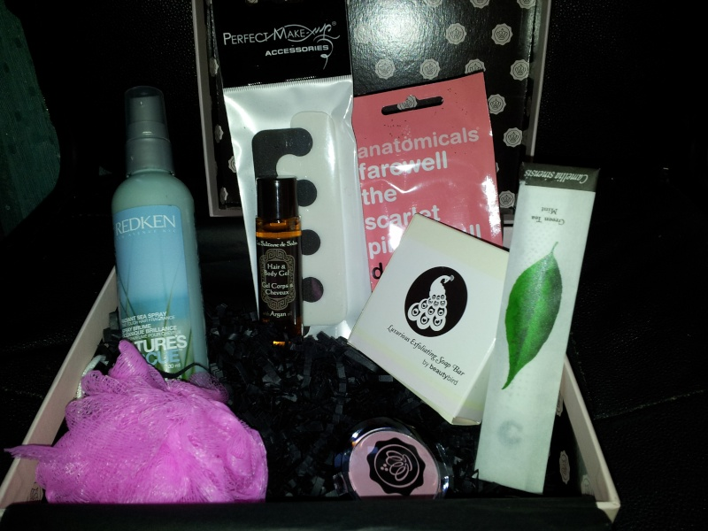"[Octobre 2012] Glossybox ""Home Spa"" 2012-110"