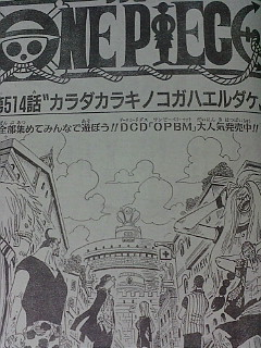 One Piece 514 : Only mushrooms growing out of the body 211