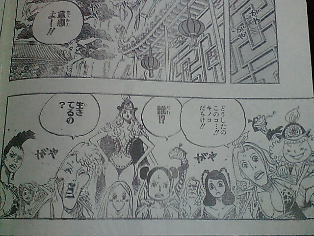 One Piece 514 : Only mushrooms growing out of the body 311