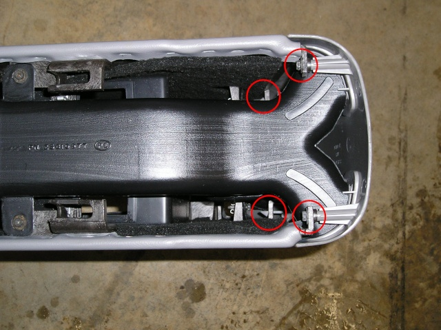 Write-Up: Center Console Removal _99_sa20