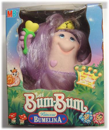 SNUGGLEBUMMS / Les Bum Bum (MB - Playskool) 1984 Bumeli10