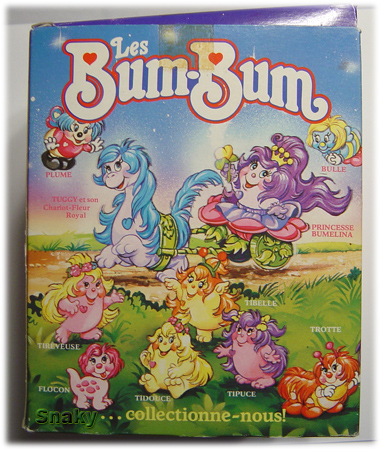 SNUGGLEBUMMS / Les Bum Bum (MB - Playskool) 1984 Bumeli11