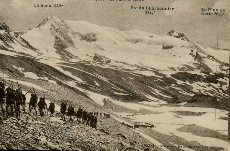 [Val d'Isère]Photos d'archives de la station et des environs Chasse10
