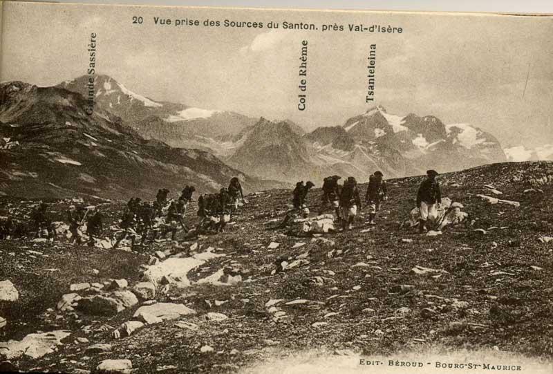 [Val d'Isère]Photos d'archives de la station et des environs Chasse11