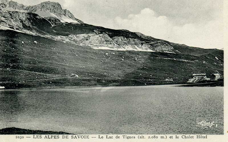 {Tignes} photos  d'archive de la station Lac110