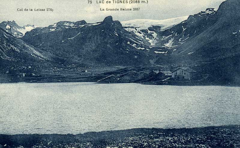 {Tignes} photos  d'archive de la station Lac210