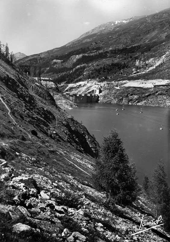 [Tignes] Le barrage de Tignes et les aménagements liés - Page 3 Travau10