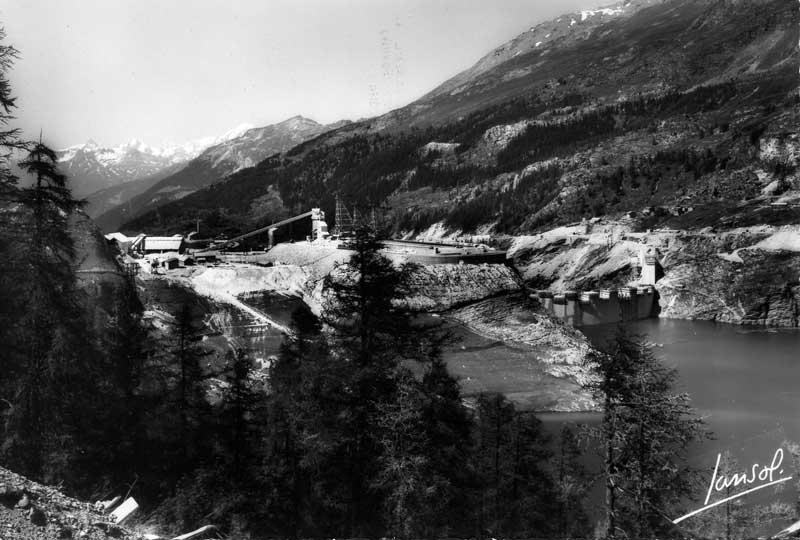 [Tignes] Le barrage de Tignes et les aménagements liés - Page 3 Travau11