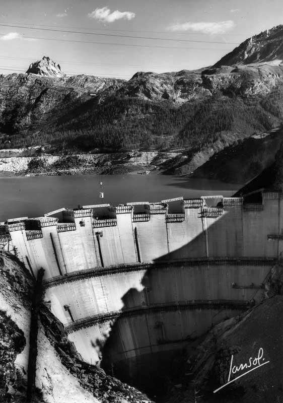 [Tignes] Le barrage de Tignes et les aménagements liés - Page 3 Travau12