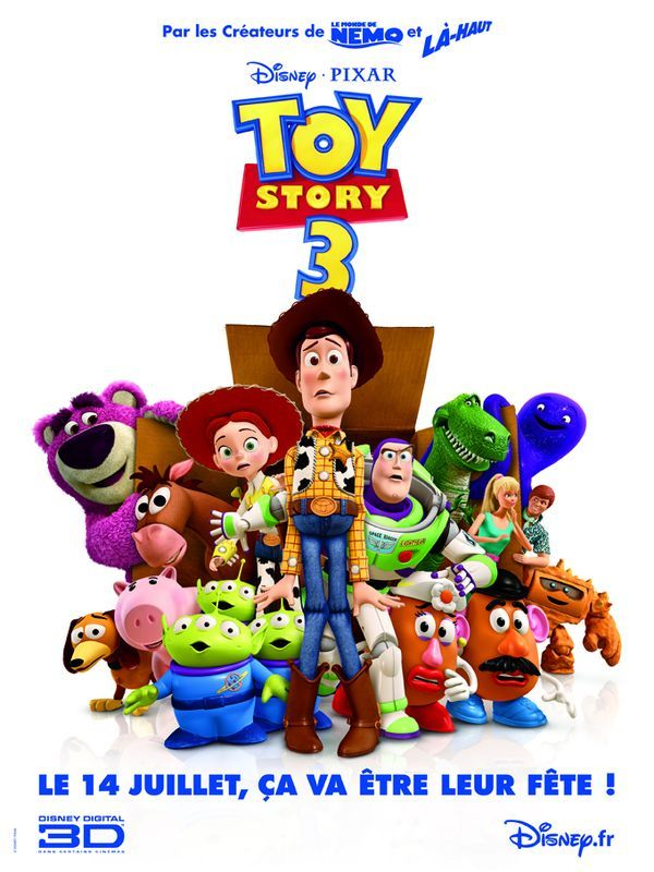 TOY STORY 3 - 2010 - - Page 2 Affich10