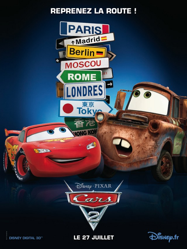 CARS 2 - Pixar - En France le 27 juillet 2011 - Cars2_10