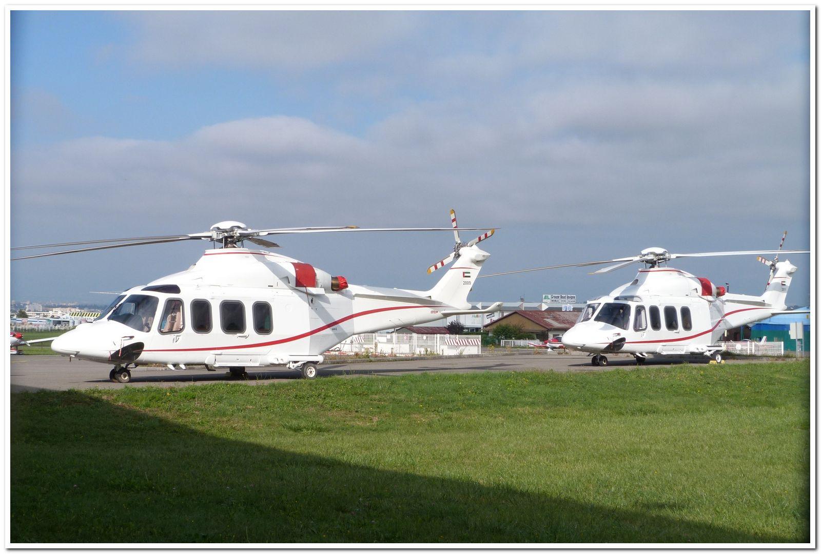 [29/07 - 16/08/2012] : Annemasse, Courchevel, Annecy, Chamonix... : Hélicos et avions dans les Alpes , le retour! Agusta11