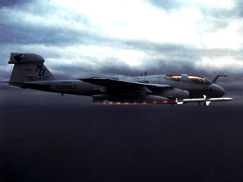 Grumman A-6 Intruder y EA-6B Prowler Agm_8810