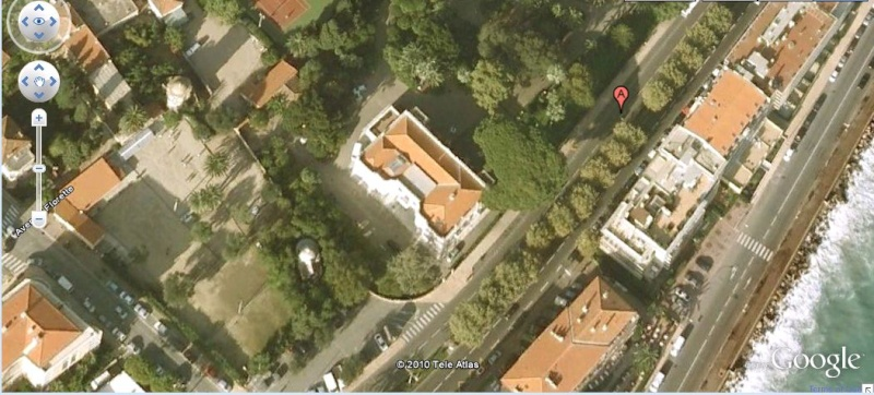 STREET VIEW : Palais de Carnolès, Menton (Alpes-Maritimes) Menton10