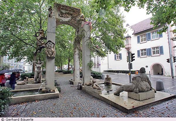 Sculptures à Constance - Allemagne Lenk_f10