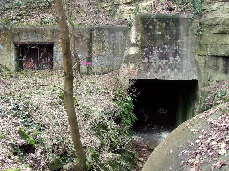Stockage V2 et gare souterraine de de Méry sur Oise (95) Dscf8014