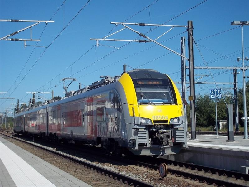 Photos de la gare de Bertrix - SNCB - 2012 // Bahnhof Bertrix // 100_3522