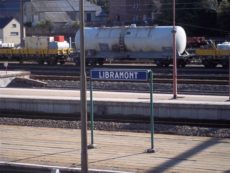 Photos de la gare de Libramont - SNCB - 2012 // Bahnhof Libramont // 100_3524