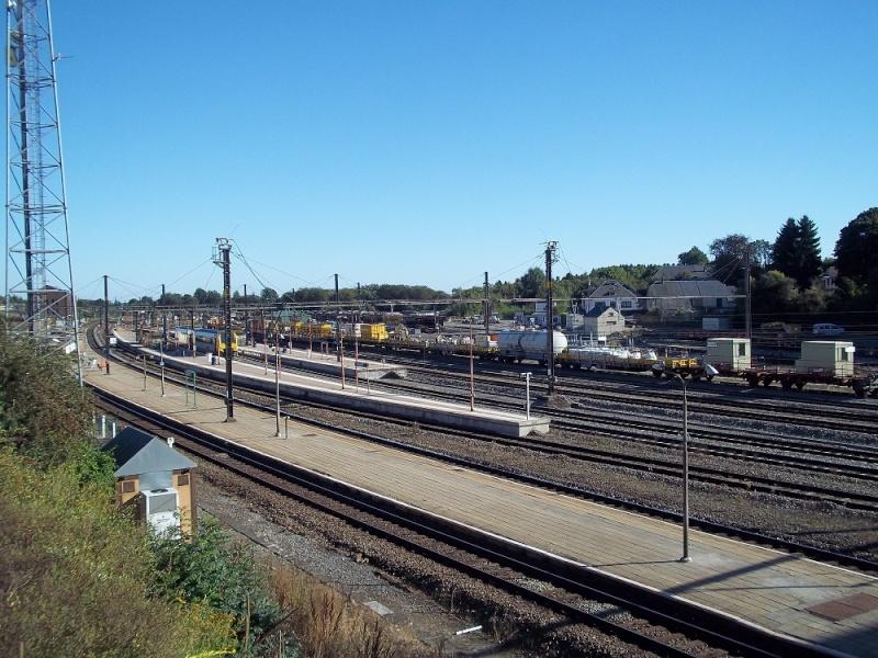 Photos de la gare de Libramont - SNCB - 2012 // Bahnhof Libramont // 100_3525