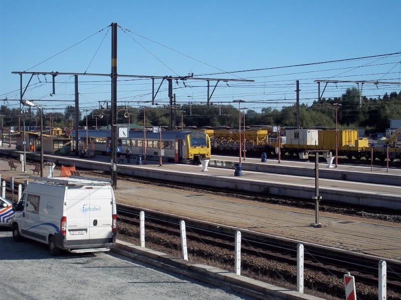 Photos de la gare de Libramont - SNCB - 2012 // Bahnhof Libramont // 100_3529