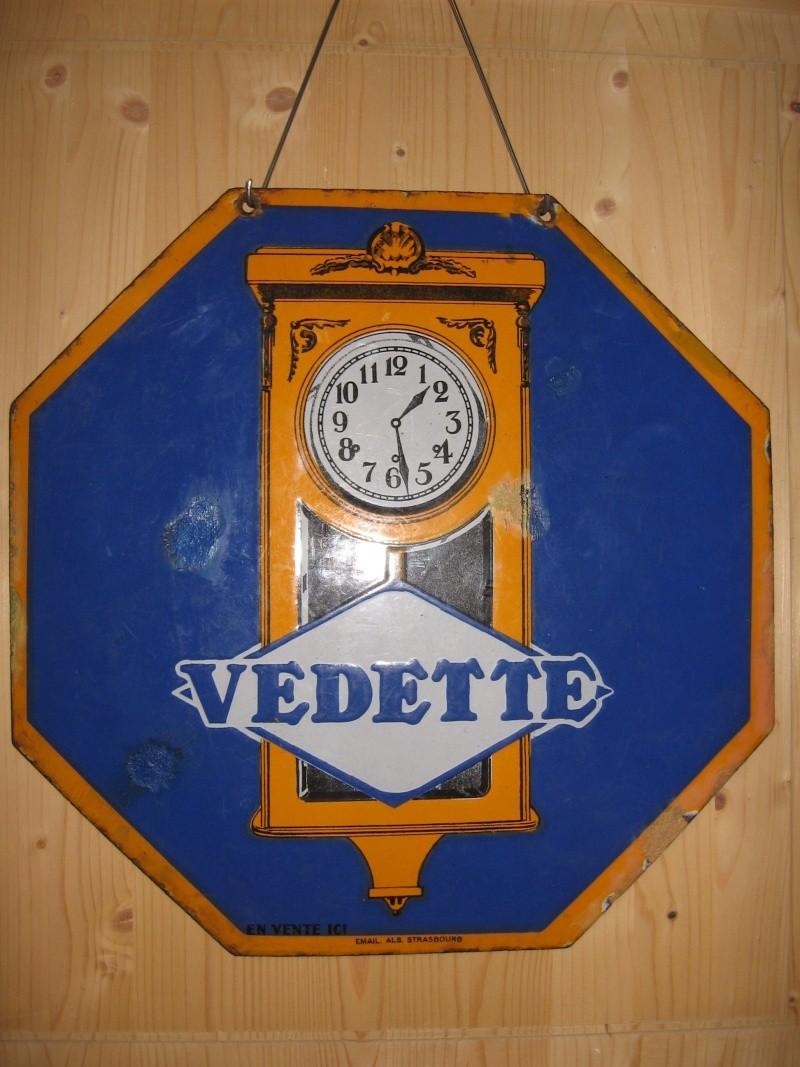 Plaques émaillées Vedett10
