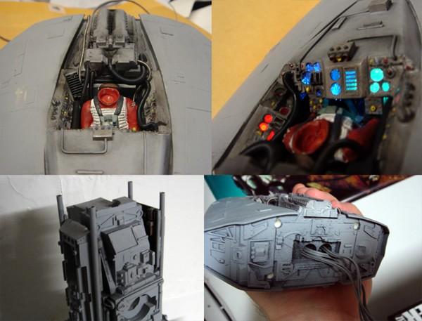 pod star wars + y-wing Dsc00910