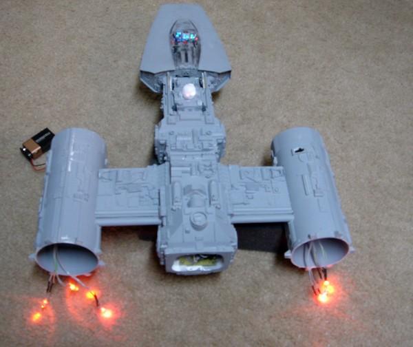 pod star wars + y-wing Dsc03510