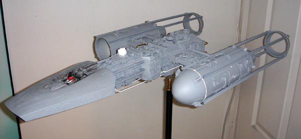pod star wars + y-wing Dsc03513