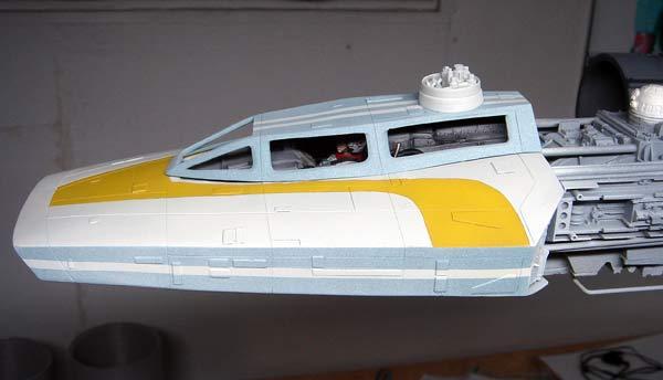 pod star wars + y-wing Dsc03713