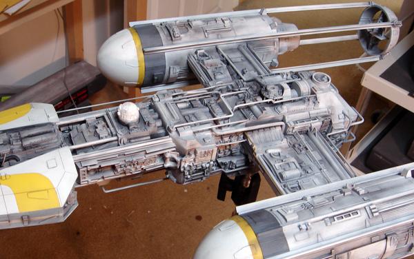 pod star wars + y-wing Dsc03810