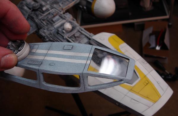 pod star wars + y-wing Dsc03811