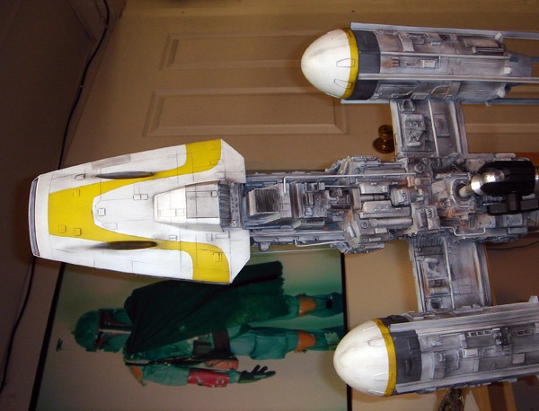 pod star wars + y-wing Dsc03812