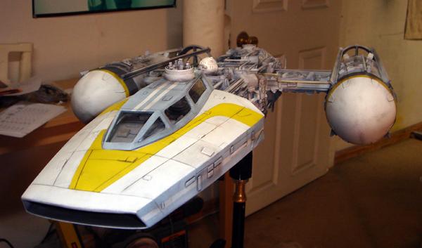 pod star wars + y-wing Dsc03813