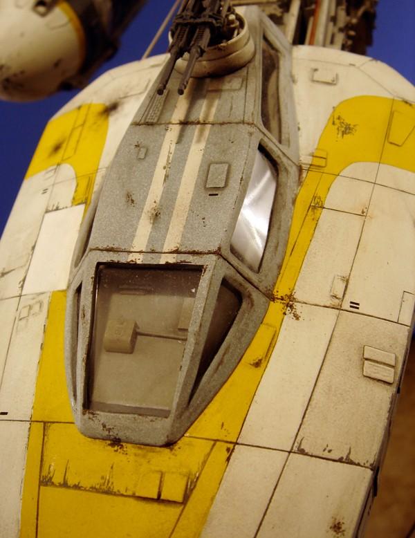 pod star wars + y-wing Dsc05513