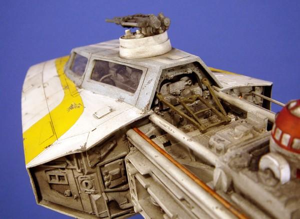 pod star wars + y-wing Dsc05514