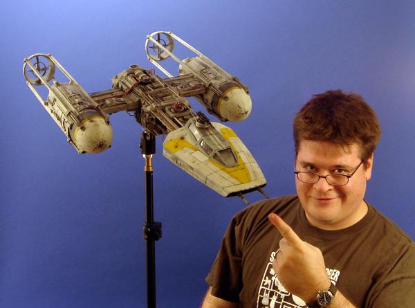 pod star wars + y-wing Dsc05517