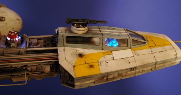 pod star wars + y-wing Dsc_0311
