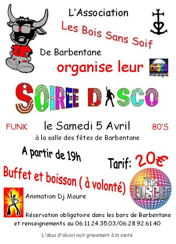 Affiche soirée disco 80 du 5 avril 2008 Affich12