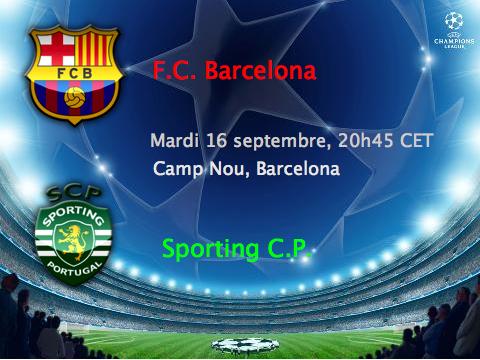 Match do Sporting en LDC Barca_10