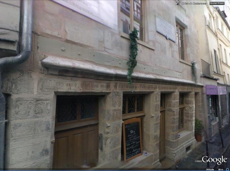 STREET VIEW : Maison de Nicolas Flamel, Paris Flamel10