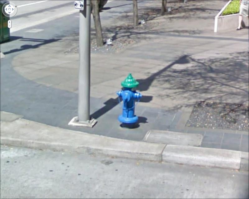 STREET VIEW : les bouches d'incendie Housto10