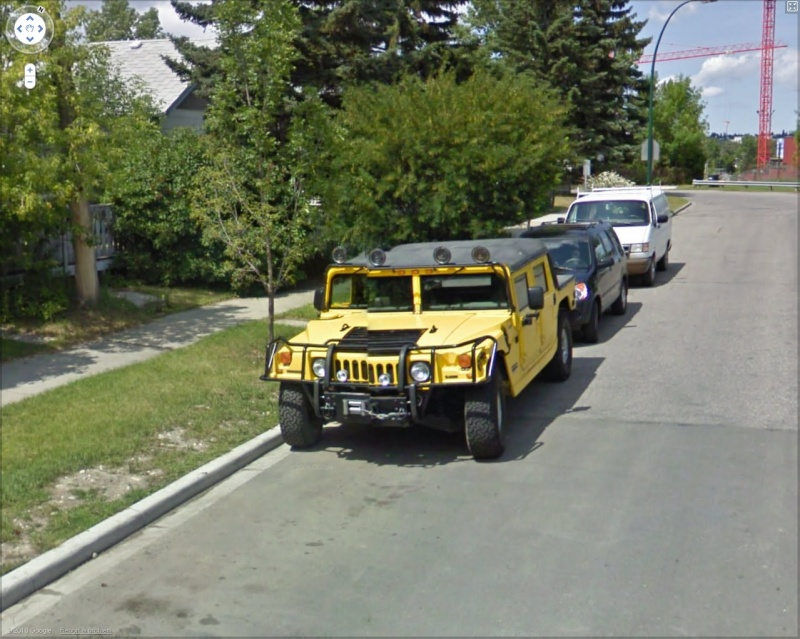 STREET VIEW : belles voitures (Monde) - Page 22 Hummer11