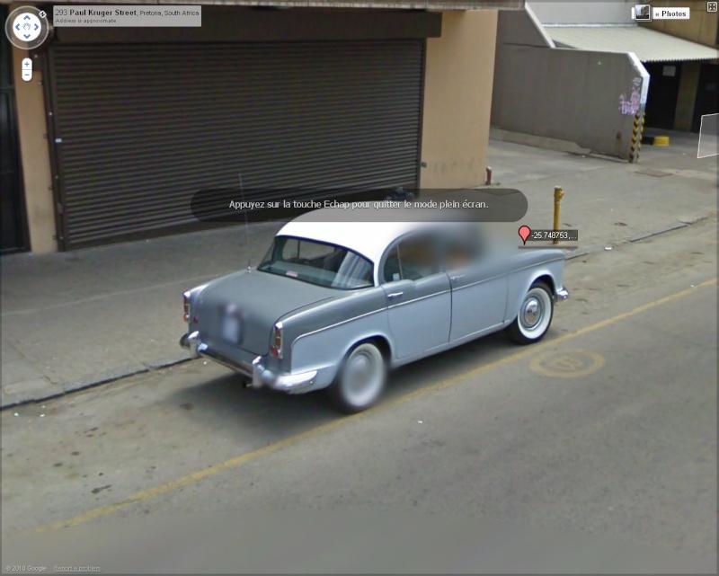 street view belles voitures monde page 22. Black Bedroom Furniture Sets. Home Design Ideas
