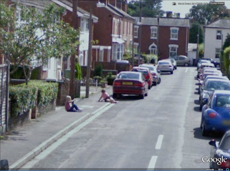 STREET VIEW, Crime, Worcester, Angleterre Morte10