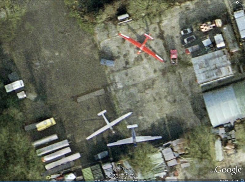 Les planeurs vus dans Google Earth Planeu10