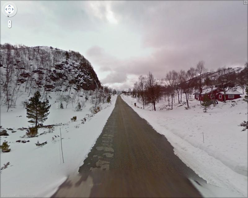 STREET VIEW : 2 sens de circulation = 2 saisons différentes vues de la Google Car ! [A la chasse !] Saison10