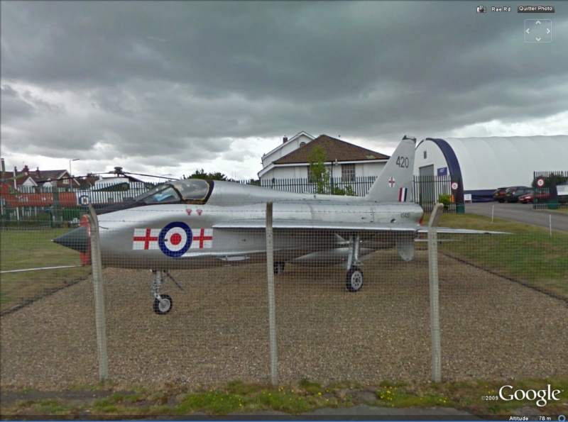 STREET VIEW : Les avions T510