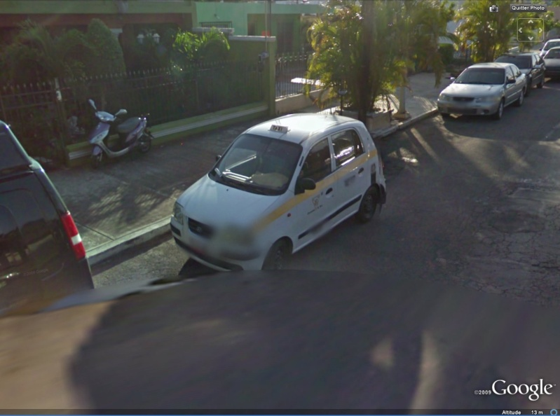 STREET VIEW : Mini Taxi,Mexique Taxi10