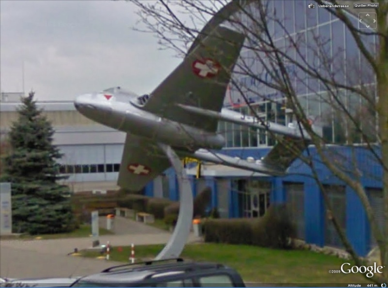STREET VIEW : Les avions Vampir10