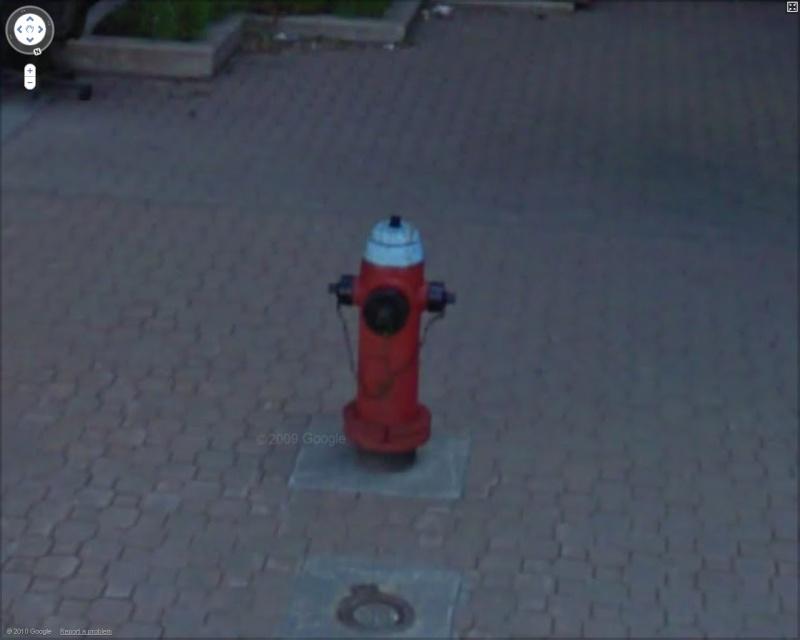 STREET VIEW : les bouches d'incendie Winni10
